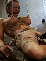 THE RANSOM A Hogtied feature movie. A fantasy BDSM abduction movie starring Rain DeGrey